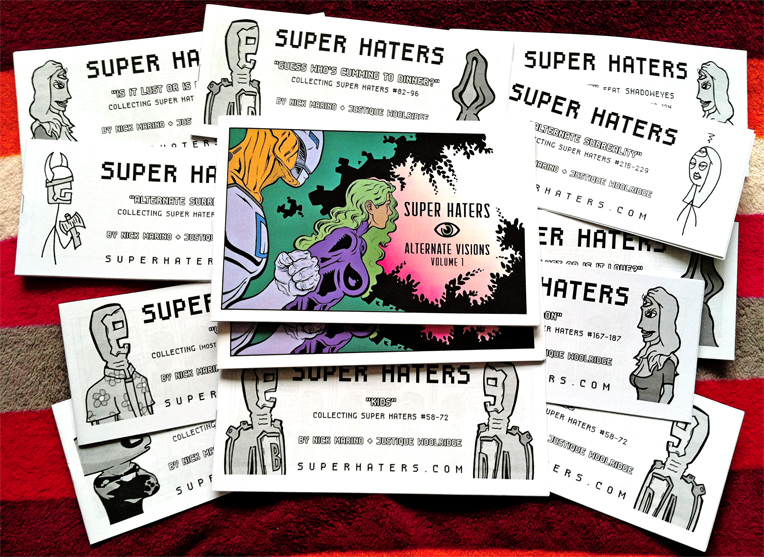 Super Haters comics