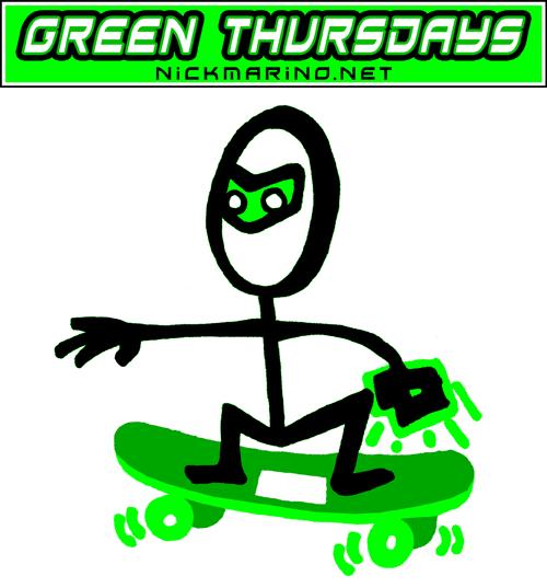 Green Thursdays - Skate Lantern