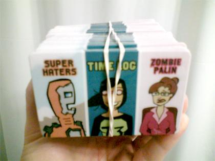Comic Cards