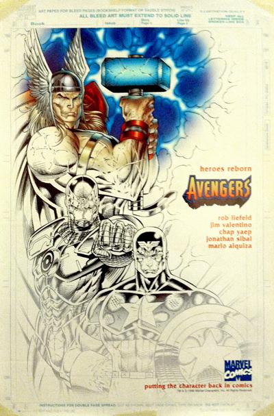 Heroes Reborn Avengers Rob Liefeld