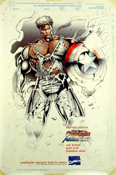 Heroes Reborn Captain America Rob Liefeld